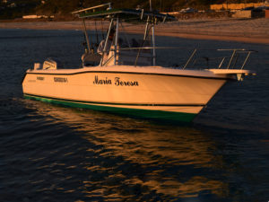 "The Maria Teresa. 26"" Pursuit boat available for Los Barriles fishing charters"