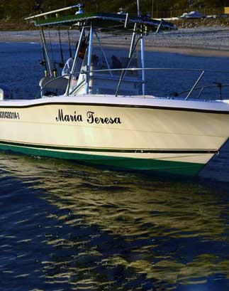 "The Maria Teresa. 26"" Pursuit Boat. Los Barriles Fishing Charters"