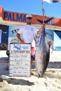 Tuna Shootout. Maria Teresa Fishing Report.