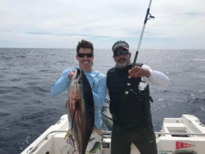 Israel and client with nice size Yellowfin Tuna