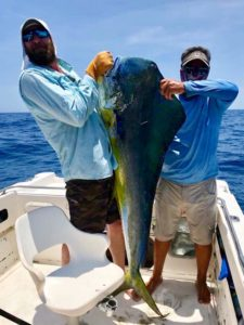 East Cape Fish Report. 63 lb. Bull Dorado.