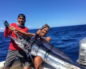 Mike Vos Sr. with Marlin. Maria Teresa Sportfihsing